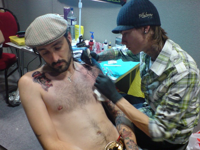 Veni Vidi Vici Tattoo. This new tattooist does awesome work!