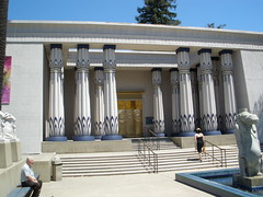 Egyptian Museum in San Jose, CA (paulazbrown@yahoo.com) Tags: architecture ancient egyptianstyle