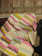 First Quilt (forsara_17) Tags: modern nap quilt bright fresh lap patchwork longarmquilting
