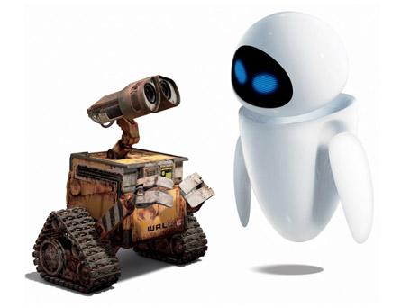 Wall-E <3 Eve