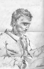 Nelson (crammdoman) Tags: dibujo hombre lápiz