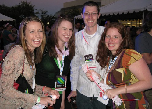 TopRank Team @ Google Dance 2008