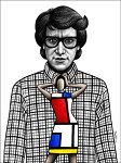 Yves_Saint_Laurent_by_BenHeine