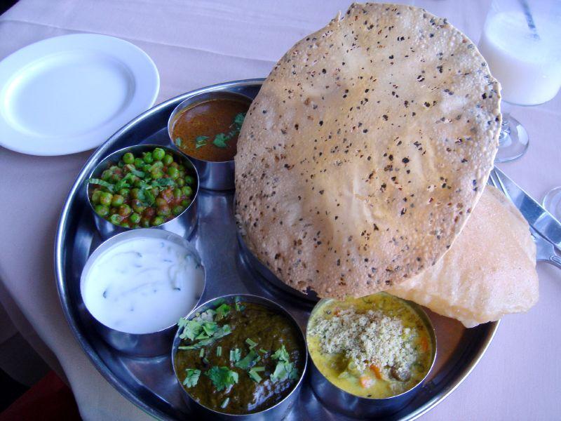Thali (Vegetarian)
