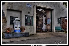 The Garage (David C Laurie) Tags: scotland garage workshop era sutherland hdr hdri dornoch fillingstation bygone