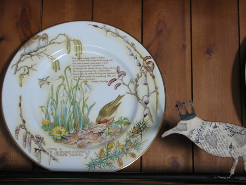 Diary of an Edwardian Lady plate