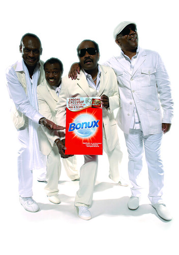 Kool and the Gang et Bonux lave plus blanc que blanc!