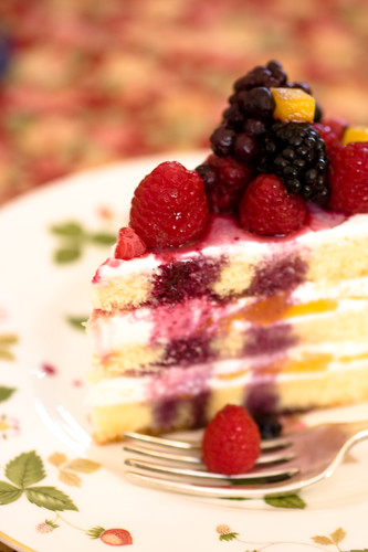 very berry cake :)