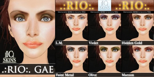 IC-Skins Rio Gae Neutral Pink
