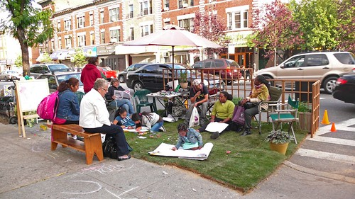 Park(ing) Day on Cortelyou Road