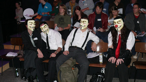 Anonymous @ Sofortige Erleuchtung (inkl. MwSt.) on September 27 in Ansbach, Germany