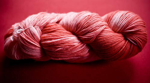 KoolAid Dyed Sock Yarn2 0908