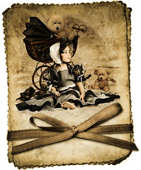 (mylaphotography) Tags: vintage child carriage teddy bonnet processedinlightroom mylaphotography rahislightroompresets mylamahgol herdressandbonnetisavailableforsale