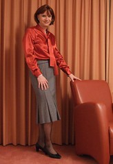 Gerry Weber skirt (Marie-Christine.TV) Tags: woman beauty rock lady tv feminine cd femme skirt tgirl wig transvestite secretary elegant frau crossdresser feminin businesswoman schn mariechristine tgurl femmeside