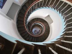 light house in denmark (GEO_Matt) Tags: lighthouse stairs denmark lookingdown aussicht nordsee corkscrew leuchtturm schifffahrt wendeltreppe schwindelig hhe