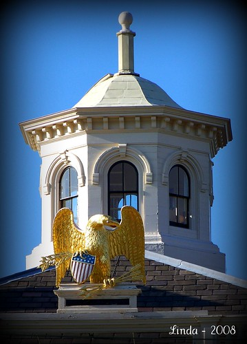 Customs House Eagle and Cupola