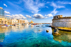 Colored Gallipoli! (Salento - Puglia - Italia - Italy) (Gojca) Tags: italy italia colored usm gallipoli salento puglia efs 1022mm 1022 efs1022mmf3545usm aplusphoto rubyphotographer