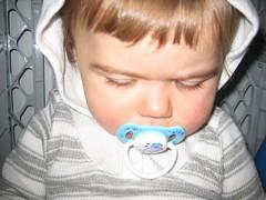 serious baby snapshot