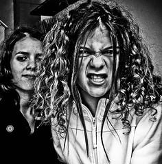 2008-SALEM (lolito de palermo) Tags: portrait witch nb scream grimace fille sorciere