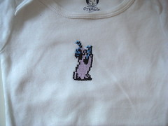 zombie onesie (benjibot) Tags: clothing crossstitch crafts videogames nes onesie castlevania