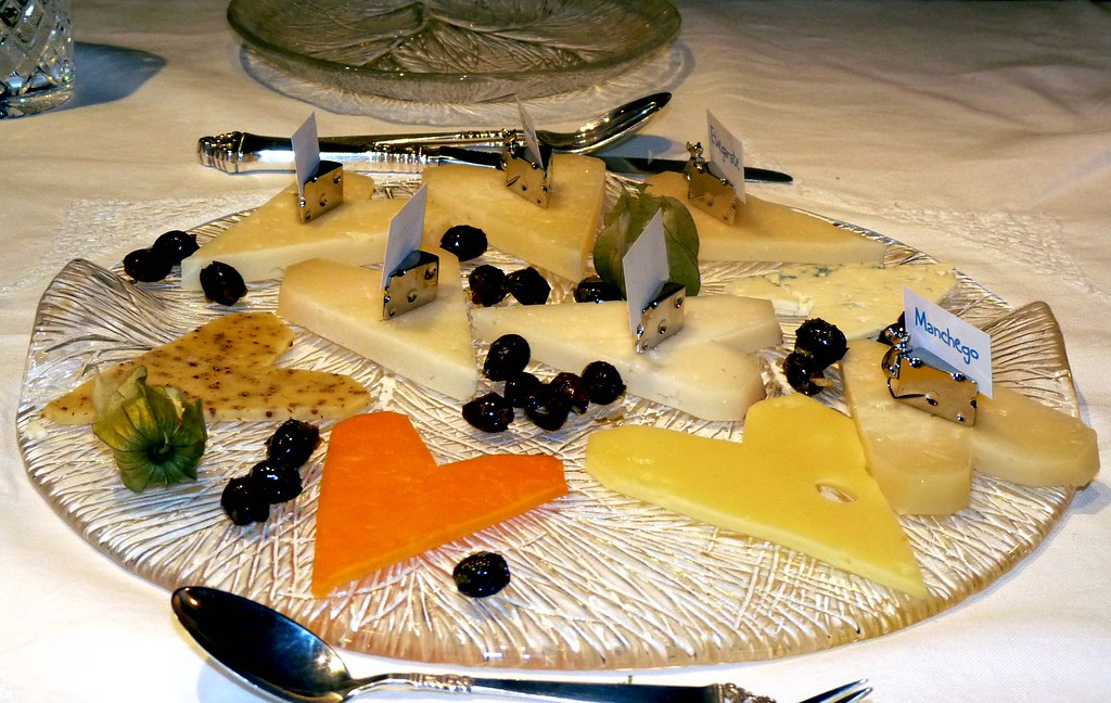 Selection of European Cheeses