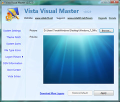 Create Your Own Windows 7 Boot & Logon Screens For Vista