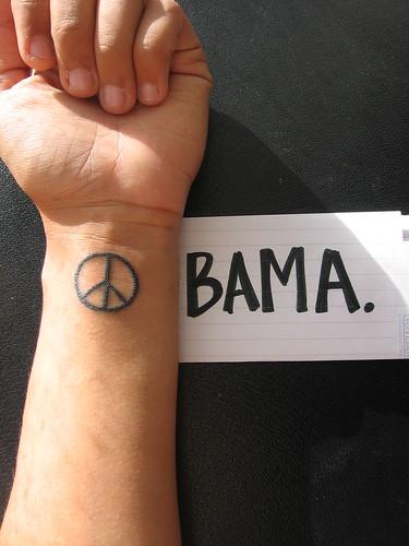Obama es paz