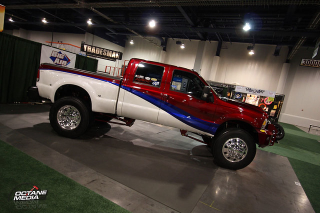 ford lift 4x4 sema f350 dually sema08