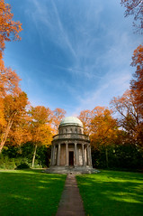 I'm in the mood for some nice colors (Philipp Klinger Photography) Tags: blue autumn sky friedhof orange green fall colors grave graveyard yellow clouds germany deutschland colorful europa europe hessen frankfurt cemetary herbst mausoleum cupola colourful philipp farben hesse klinger hauptfriedhof dcdead