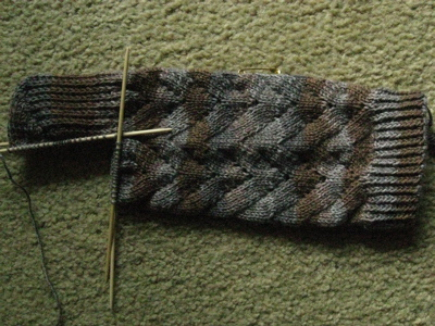 no-purl Monkey sock