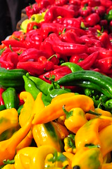 Hot Peppers on a Sunday Morning