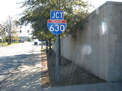 630 Series D (US 71) Tags: littlerock highways arkansas roadsigns highwaysigns i630 interstate630