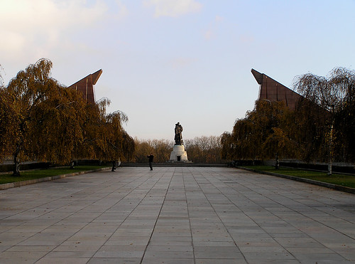 Towards the memorial