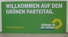 Willkommen auf dem grünen Parteitag!