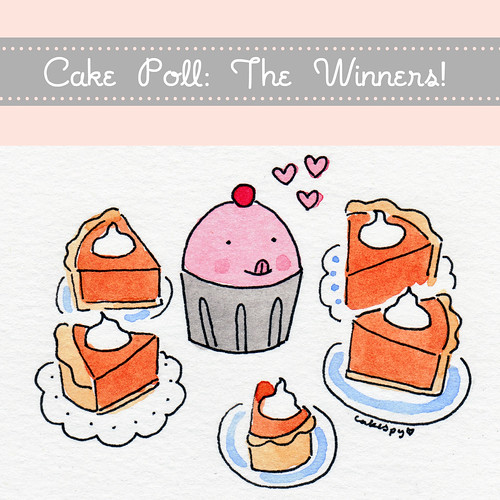 November Cake Poll Winners