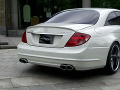 Vitt Performance   Mercedes CL Widebody