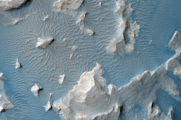 MARS MRO / CHAOTIC TERRAIN