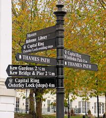 Street sign in Richmond