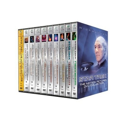 DVDs de Star Trek