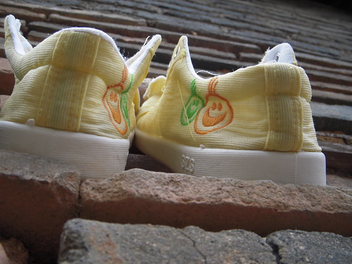 Yellow shoes - 5