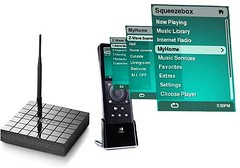 Innovus Home Automation with Logitech Squeezebox