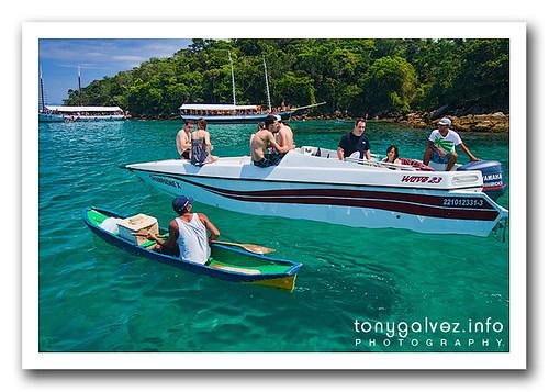 Lagoa Azul, Ilha Grande