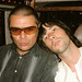Mani & Bobby Gillespie of Primal Scream Belfast 2002