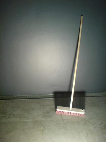 clean broom