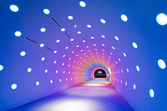 Rainbow Tunnel (whc7294) Tags: nagoya rainbowtunnel 名古屋 sigma1020mm midlandsquare 名駅 10faves ミッドランドスクエア anawesomeshot aplusphoto superhearts lunarvillage theunforgettablepictures theunforgettablepicture thefinalcrown artistsoftheyear platinumheartaward artlegacy skypromenade nikond300 goldstaraward 10mosaichalloffame スカイプロムナード rionbowcolour