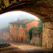 Nebbia in Via Appia