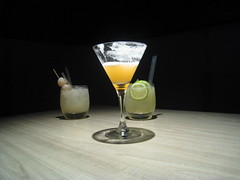 IMG_0981 (jnnguyen90) Tags: light glass bar glasses drinks alcohol lime cocktails straws