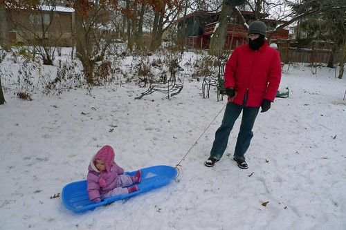 family cute hat happy dad boots sydney panasonic jacket cap sledding stocking sled snowpants lx3