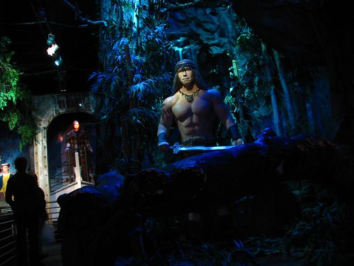 Hollywood wax muesuem Arnold Conan the Barbarian