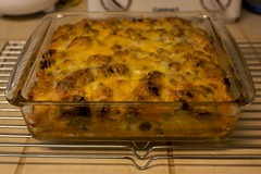 Breakfast Casserole: Hot & Ready